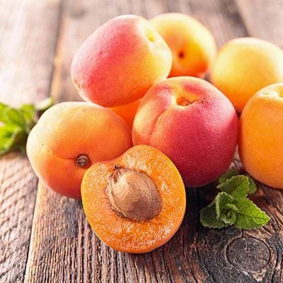 Peaches N' Cream has apricot