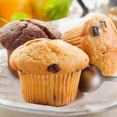 Apple Cinnamon has muffin