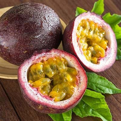 Baie Cream has passion fruit
