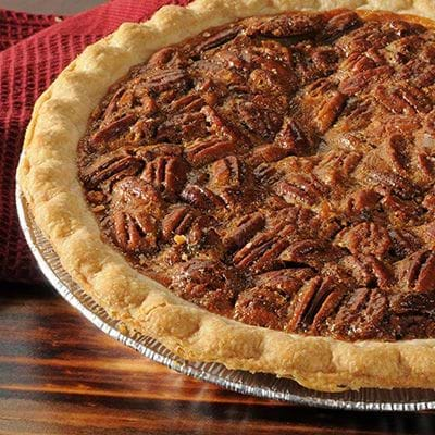 Sherlock has pecan pie