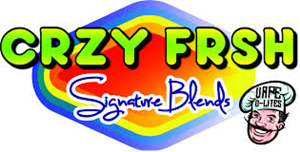 "CRZY FRSH ""Signature Blends"" by Vape D-Lites"