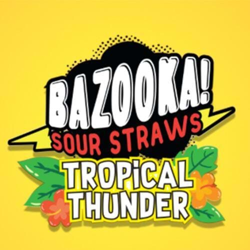 Tropical Thunder by Bazooka Sour Straws