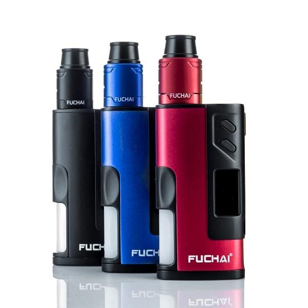 Fuchai Squonk Kit - Red Hardware