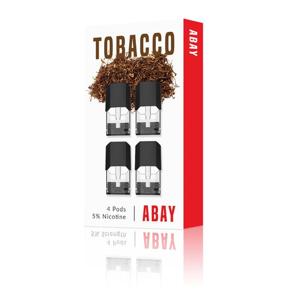 ABAY Tobacco Pods (4-Pack) Juice