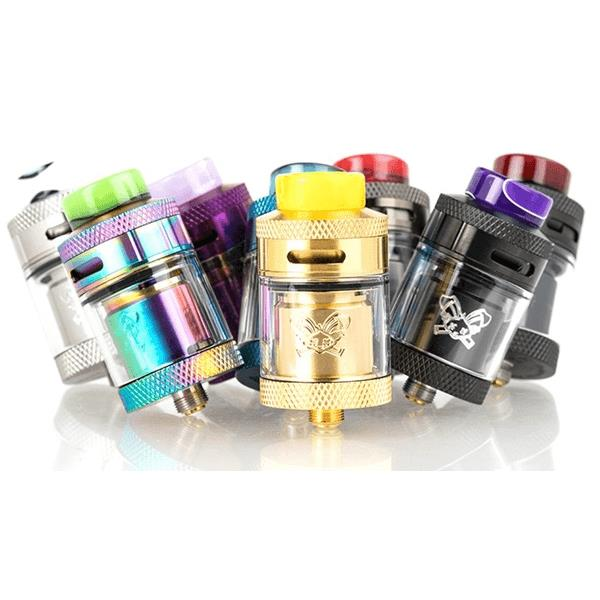 Rabbit RTA Vape Tank by Hellvape x Heathen Hardware