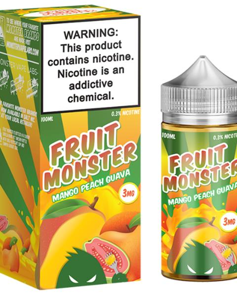 Fruit Monster Mango Peach Guava Juice