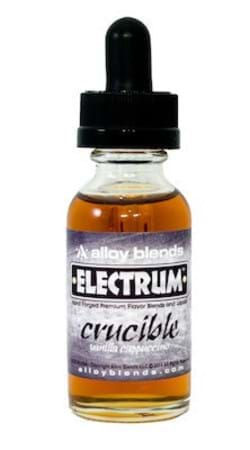 Crucible by Alloy Blends