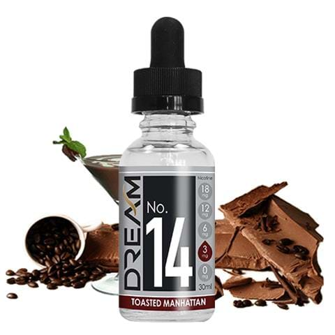 #14 Toasted Manhattan (50% Vg) E-Juice
