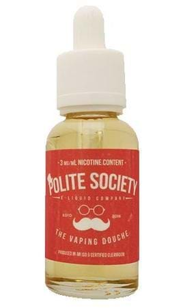 Polite Society The Vaping Douche E-Juice Flavor