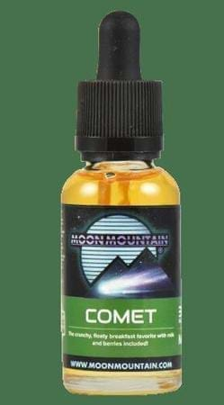 Comet by Moon Mountain