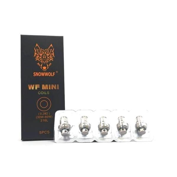 WF Wolf Mini Replacement Vape Coils (5-Pack) Hardware