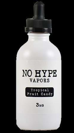 No Hype Vapors Tropical Fruit Candy E-Juice Flavor
