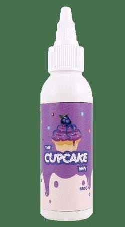 The Cupcake Man Blueberry E-Juice Flavor