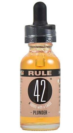 Rule 42 Eliquid Plunder E-Juice Flavor