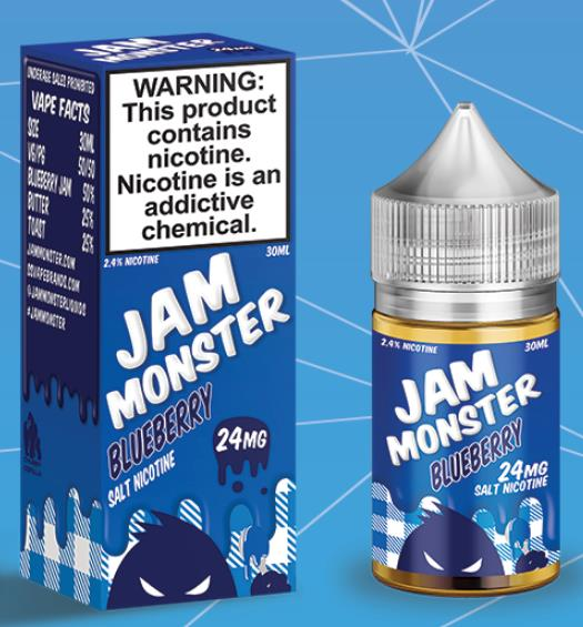 Jam Monster Blueberry Salts Juice