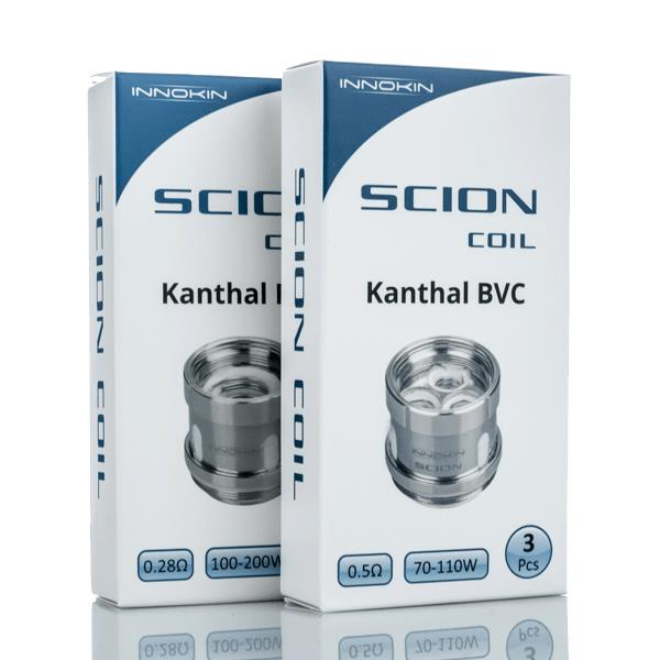 Scion Sub Ohm Tank Replacement Coils (3-Pack) Hardware