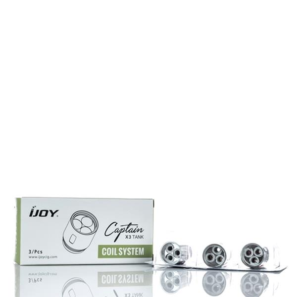 Captain X3 Replacement Vape Coils (3-Pack) by iJoy