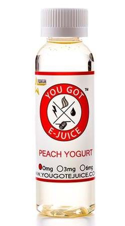 You Got E-Juice Peach Yogurt E-Juice Flavor