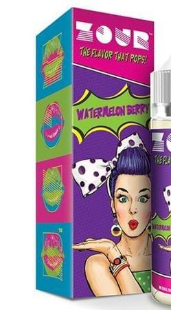 ZOUR Watermelon Berry E-Juice Flavor
