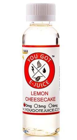 You Got E-Juice Lemon Cheesecake E-Juice Flavor