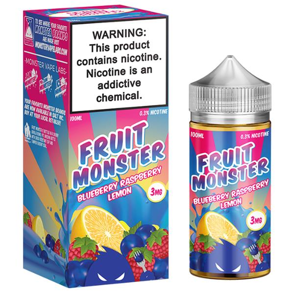 Fruit Monster Blueberry Raspberry Lemon Juice