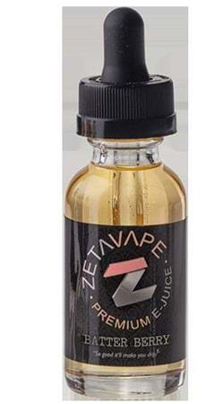 Zeta Vape Co Batter Berry E-Juice Flavor