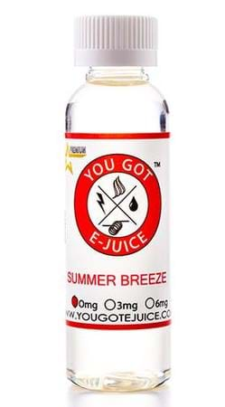 You Got E-Juice Summer Breeze
