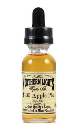 Northern Lights Vapor Co $100 Apple Pie - High VG