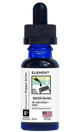 Element Emulsions Key Lime Cookie + Frost E-Juice Flavor