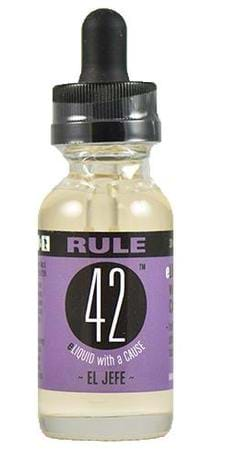 Rule 42 Eliquid El Jefe