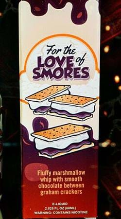 For The Love of S'mores For The Love of S'mores E-Juice Flavor
