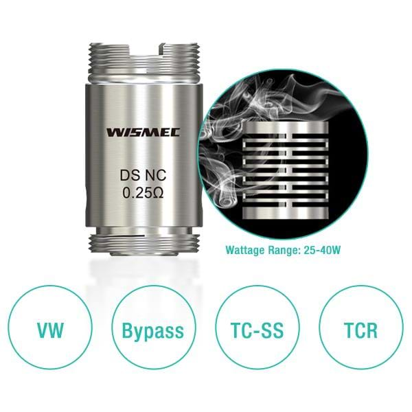 DS Replacement Coils (5 Pack) by Wismec