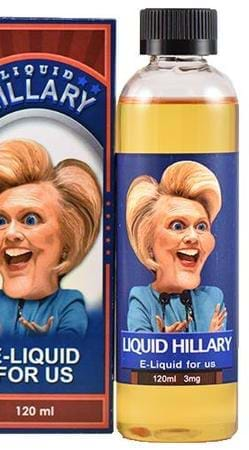 Election E-Liquid Hillary E-Juice Flavor