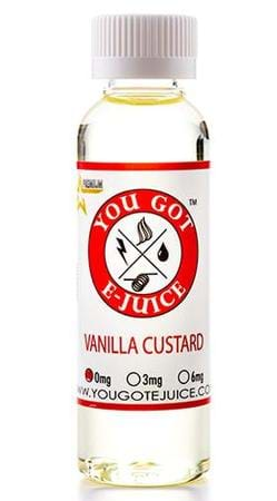 Vanilla Custard E-Juice