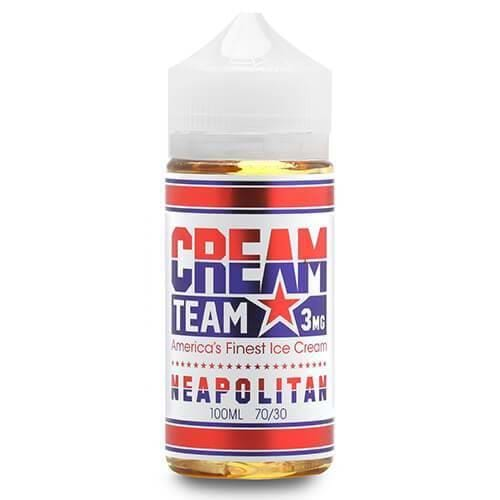 Neapolitan eJuice by Cream Team