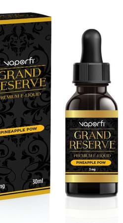 VaporFi Grand Reserve Pineapple Pow E-Juice Flavor