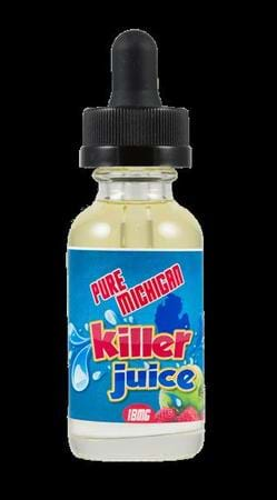Killer Juice Pure Michigan E-Juice Flavor
