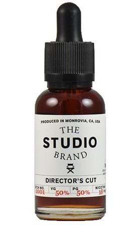 The Studio Brand Director's Cut E-Juice Flavor