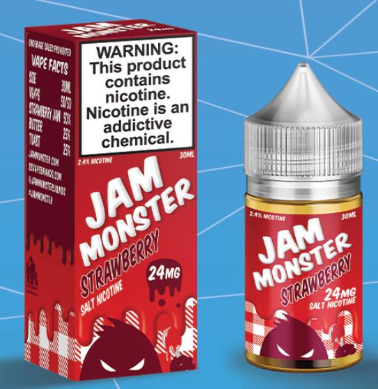 Jam Monster Strawberry Salts Juice