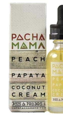 Peach Papaya Coconut Cream E-Juice