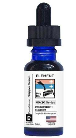 Element Emulsions Pink Grapefruit + Blueberry E-Juice Flavor