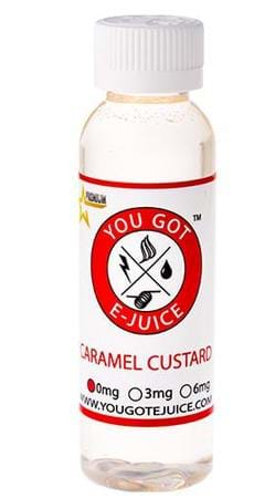 Caramel Custard Juice