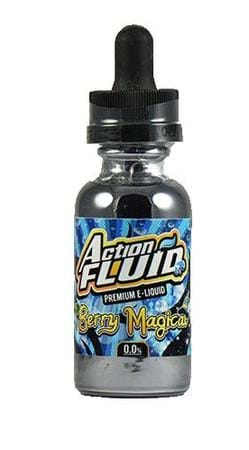 Action Fluid Berry Magical E-Juice Flavor