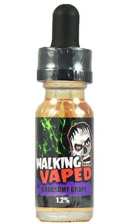 Walking Vaped E-Liquid Gruesome Grape E-Juice Flavor