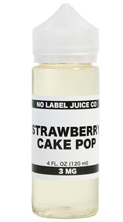 Strawberry Cake Pop by No Label Juice Co