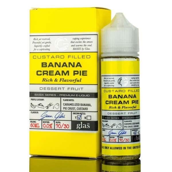Basix Banana Cream Pie E-liquid (60mL) Hardware