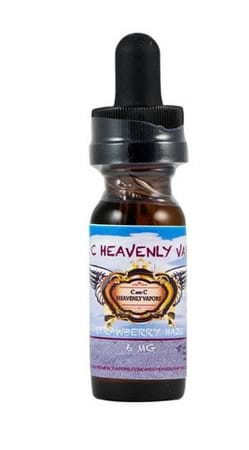 C and C Heavenly Vapors Strawberry Haze