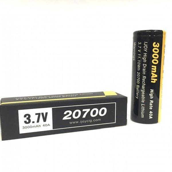 20700 3000mAH 40A High Drain Battery by iJoy