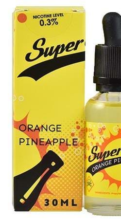 Super Soda Pineapple Orange E-Juice Flavor