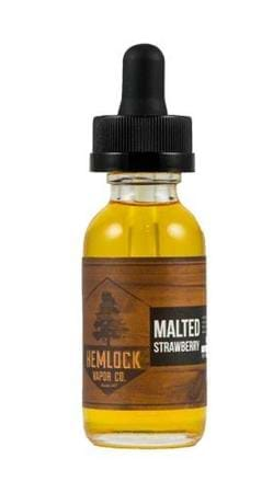Hemlock Vapor Co Malted Strawberry